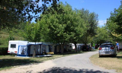 emplacement caravane camping Moustiers Sainte Marie