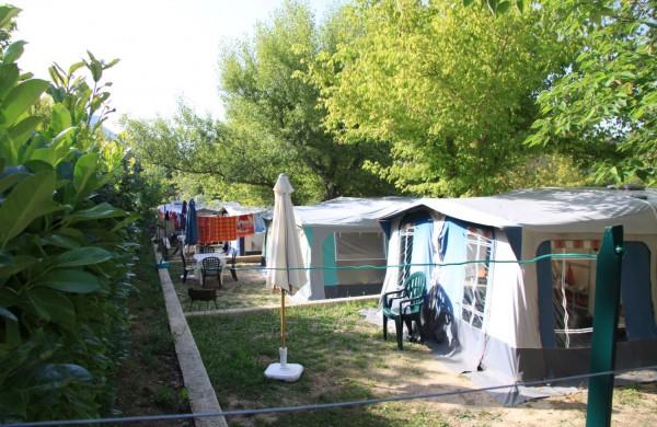 location caravane camping Verdon
