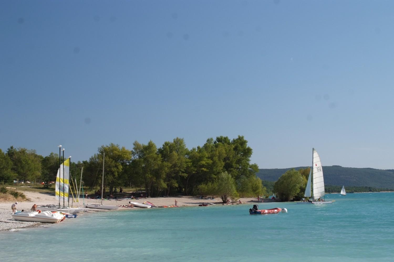 camping Lac de Ste Croix, Verdon, pêche,voile, baignade, plongée, pédalo