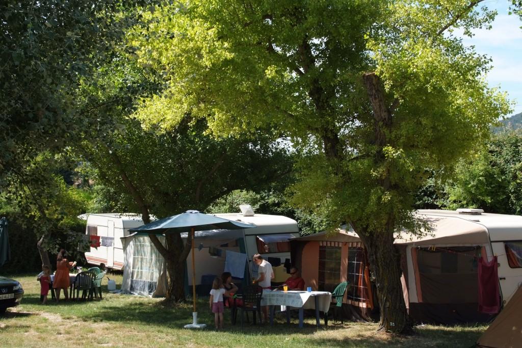 Camping Manaysse Moustiers Sainte Marie location caravane