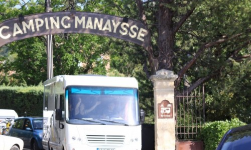 Camping Manaysse Moustiers Sainte Marie camping car