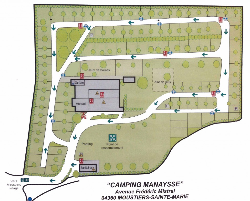 Camping Manaysse Moustiers Sainte Marie